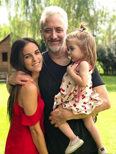 Kusnetsoff es papá de una hermosa bebé.