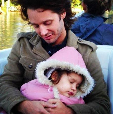 Benjamín recordó a la niña que tuvo con Pampita.