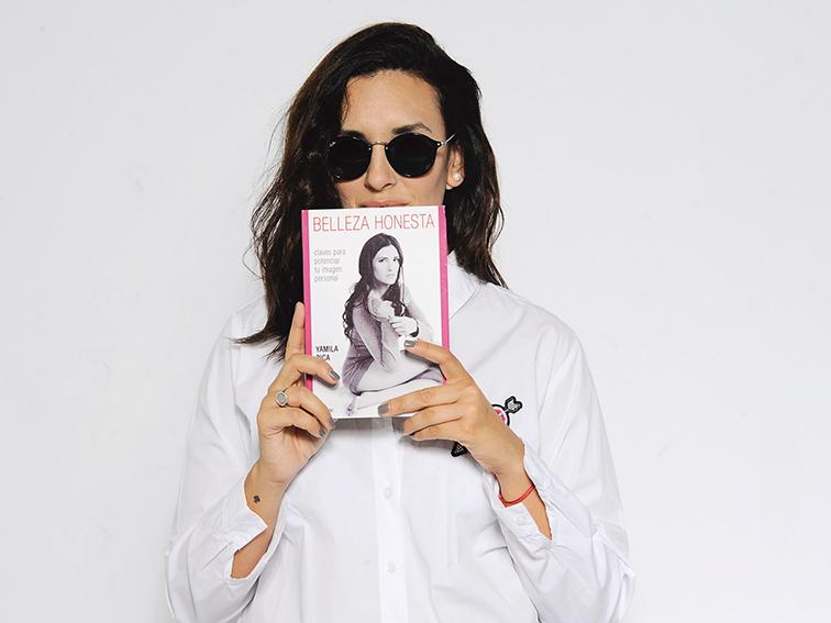 Yamila es autora del libro Belleza honesta.