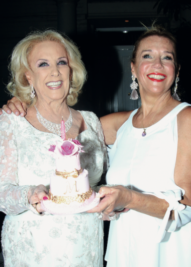 La gran convocatoria de Mirtha