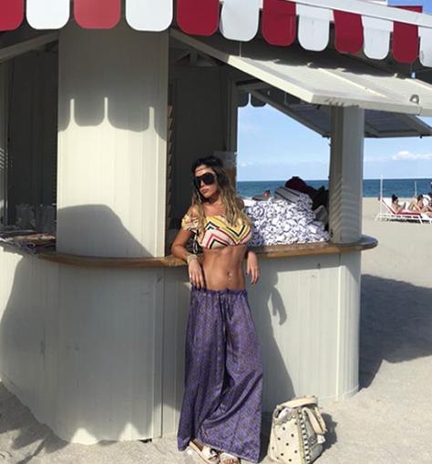 La playa de Miami es su hábitat.