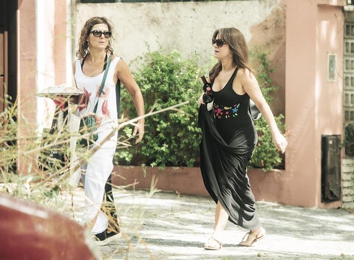 Las chicas pasaron una tarde genial junto a Mónica Antonopulos.