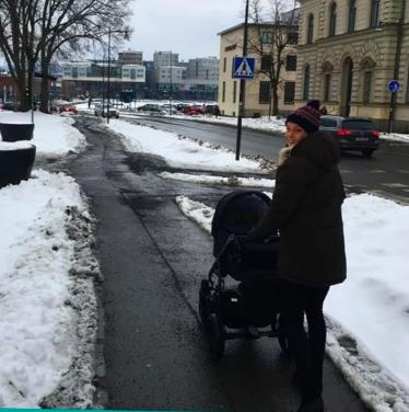 La Sueca está viviendo en Estocolmo junto a su bebé y su pareja.