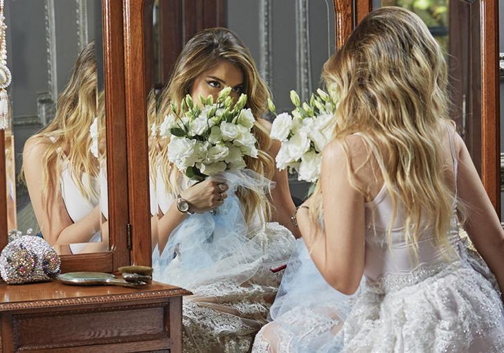 Dalma hizo una producción de fotos hermosas para la revista Hola.