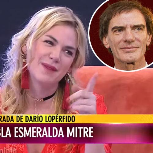 El sincericidio de Esmeralda Mitre.