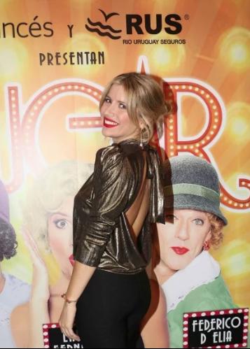 Laurita Fernández feliz con su debut