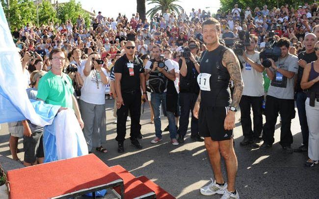 En su época de maratonista