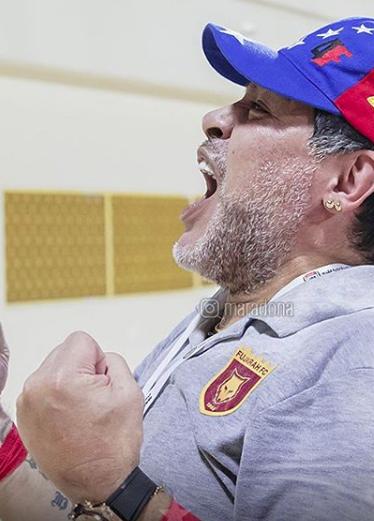 La emoción de Diego por el nacimiento de su nieto