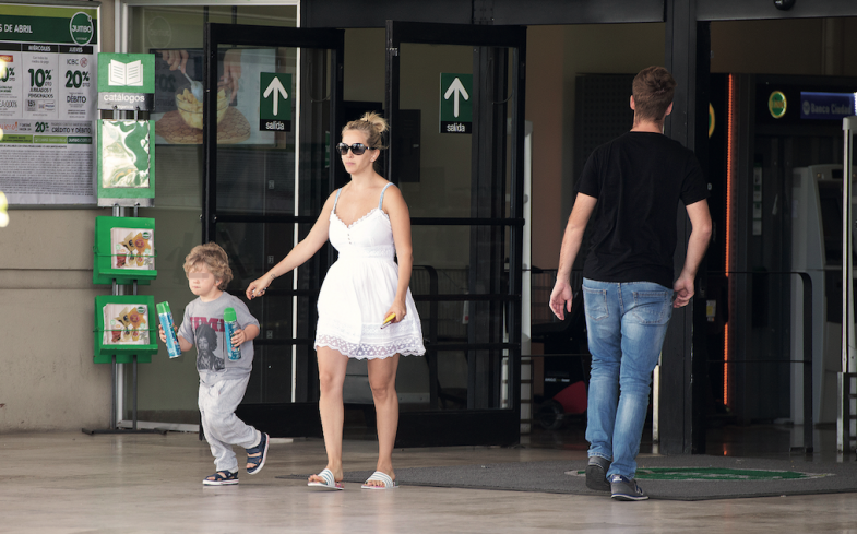 Luisana tendrá a su hija en Canadá en julio