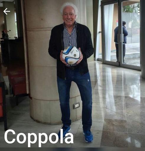 Guillermo Coppola, siempre presente en las jodas.