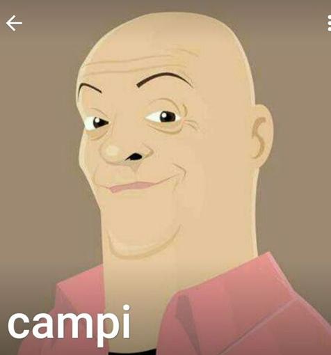 El emoticon de Campi.