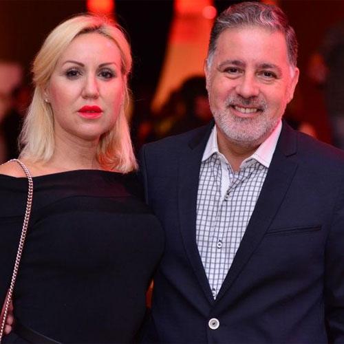 Fabián Doman y María Laura Lillo cuando todavía estaban juntos.