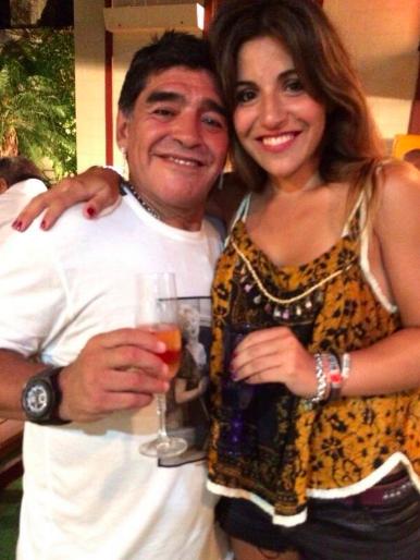La relación de Diego y las hijas que tuvo con Claudia está en su peor momento.