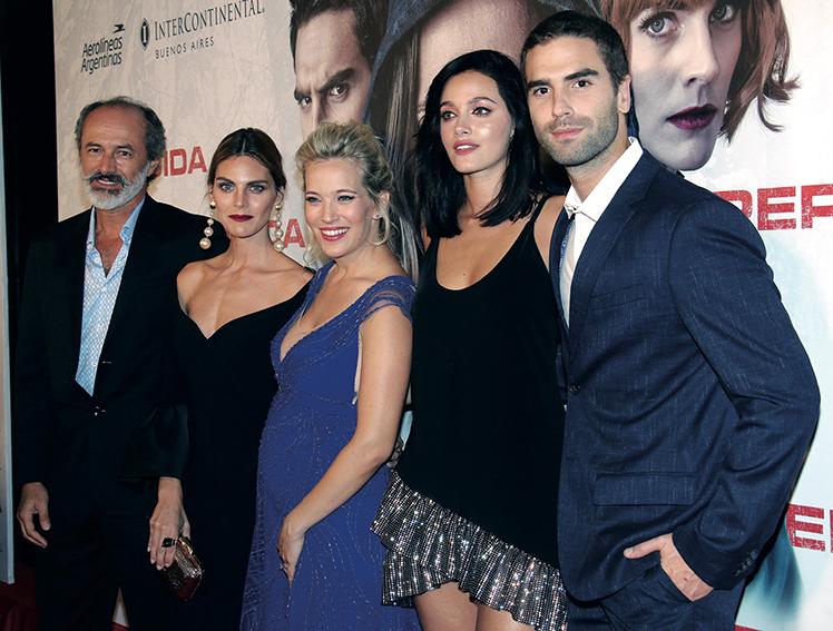 La actriz trabajó en la película Perdida.