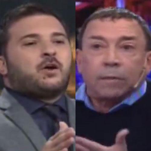 Pachano se quedó sin argumentos y agredió a Brancatelli.