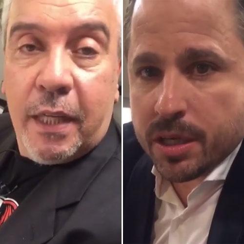 Coco Sily y Martín Tetaz discutieron en el programa de Mirtha.