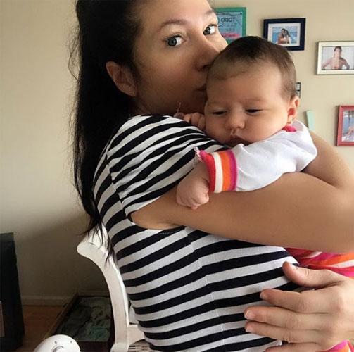 Adabel Guerrero y Lola, cada día mejor.