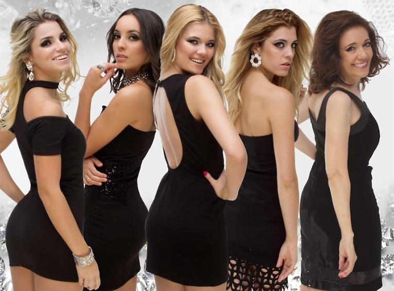 Las nuevas diosas de Aldo Funes la van a romper en la calle Corrientes.