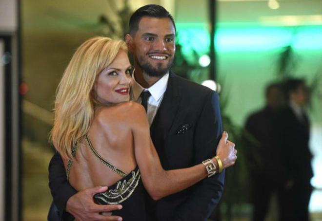 Eliana salió en defensa de su esposo, el arquero Sergio Romero.