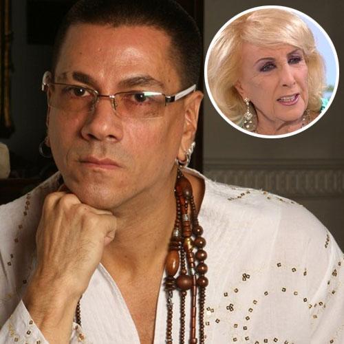 Roberto Piazza se enojó con Mirtha.