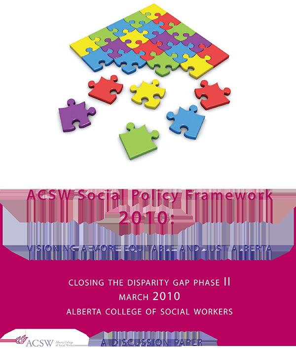 ACSW Social Policy Framework 2010