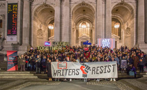 Writers resist litfest gala featured image