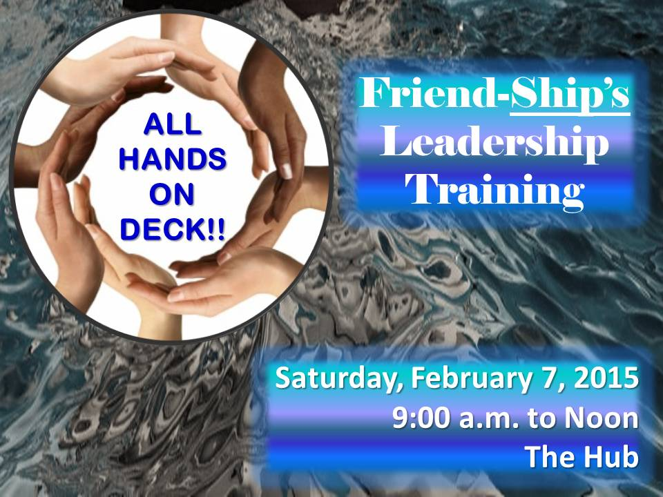 All Hands On Deck!!!