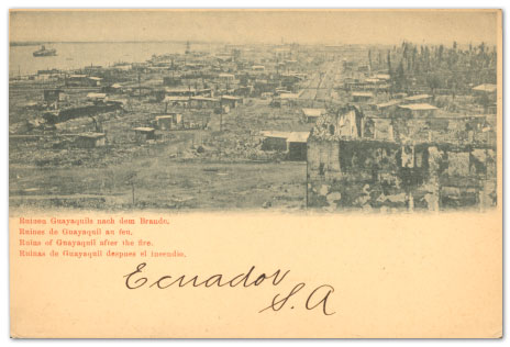 From the Fire of 1902 Came the Ecuador Fire Control Marks