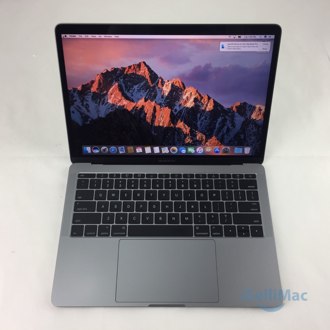 apple 2016 macbook pro retina 13 2 0ghz i5 256gb ssd 8gb. Black Bedroom Furniture Sets. Home Design Ideas