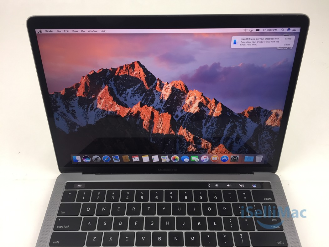 apple 2016 macbook pro retina 13 2 9ghz i5 256gb ssd 8gb. Black Bedroom Furniture Sets. Home Design Ideas