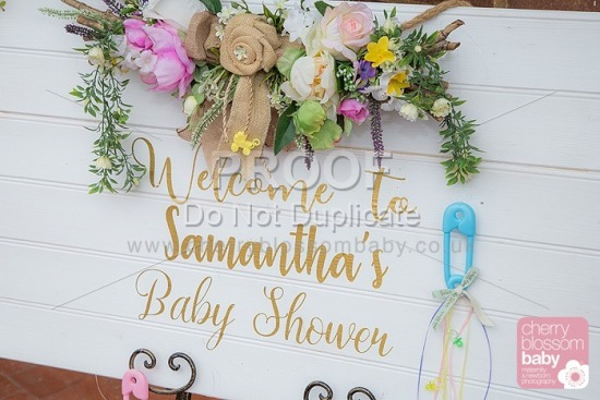Samantha Baby shower