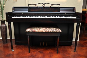 Wurlitzer spinet acoustic upright piano used for sale rent rental chandler tempe scottsdale gilbert mesa arizona phoenix my first gallery az