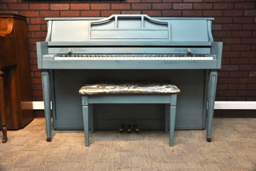 Refinished painted piano Baldwin console piano store in Phoenix Arizona