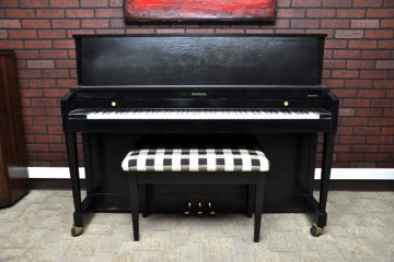 Baldwin Hamilton studio acoustic upright piano ebony satin black used for sale rent rental gilbert mesa arizona phoenix