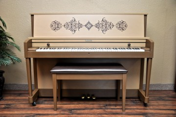 Baldwin refinish custom DIY shabby chic pinterest studio acoustic upright piano used for sale rent rental Chandler Tempe Scottsdale gilbert mesa arizona phoenix my first gallery az