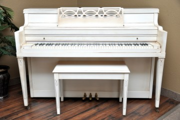 Everett Console acoustic upright piano used for sale rent rental chandler tempe scottsdale gilbert mesa arizona phoenix my first gallery az