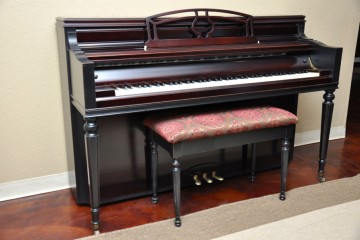 Chickering Console acoustic upright piano used for sale rent rental chandler tempe scottsdale gilbert mesa arizona phoenix my first gallery az