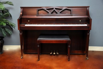 Conn console acoustic upright piano used for sale rent rental chandler tempe scottsdale gilbert mesa arizona phoenix my first gallery az