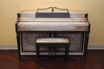 Wurlitzer spinet student practice small acoustic upright piano used for sale rent rental Tempe Chandler gilbert mesa arizona phoenix my first gallery az