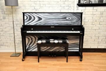 Baldwin studio acoustic upright piano ebony satin black used for sale rent rental gilbert mesa arizona phoenix my first gallery az
