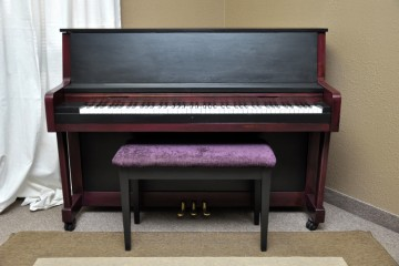 Charles Walter studio acoustic upright piano used for sale rent rental chandler tempe scottsdale gilbert mesa arizona phoenix my first gallery az