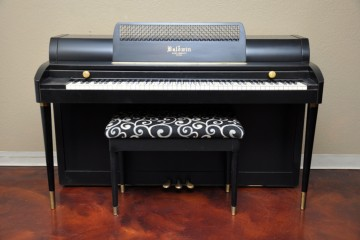 Baldwin Acrosonic spinet acoustic upright piano ebony satin black used for sale rent rental gilbert mesa arizona phoenix my first gallery az