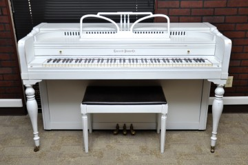 Everett Spinet acoustic upright piano used for sale rent rental chandler tempe scottsdale gilbert mesa arizona phoenix my first gallery az
