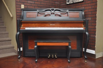 Yamaha Piano, Falcone, Painted piano, My First Piano, Piano Revival Project, Piano Store Gilbert