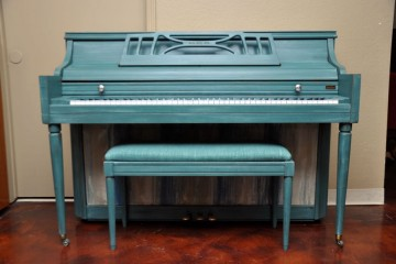 Artistic Piano, Artisan Finished Piano, Used Piano, designer piano, Mesa Piano,