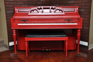 Kimball console acoustic upright piano used for sale rent rental chandler tempe scottsdale gilbert mesa arizona phoenix my first gallery az