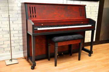 Kimball studio acoustic upright piano used for sale rent rental chandler tempe scottsdale gilbert mesa arizona phoenix my first gallery az