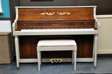 Kimball console grand studio spinet acoustic upright piano used for sale rent rental gilbert mesa arizona phoenix my first gallery az