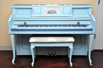 Henry Miller console acoustic upright piano used for sale rent rental gilbert mesa arizona phoenix my first gallery az