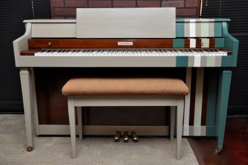 Baldwin spinet acrosonic acoustic upright piano pre owned used for sale rent rental multi color scottsdale beginner lessons teacher gilbert mesa arizona phoenix my first gallery az